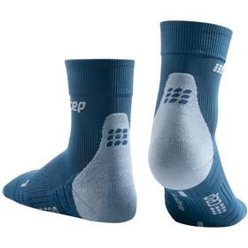 cep Short Socks 3.0 Donna, blu/grigio